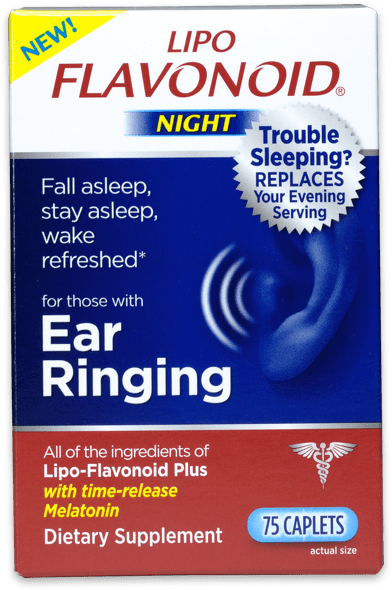 ringing in ears at night